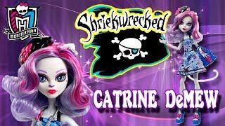 Монстер хай 🐾 Катрин ДеМяу Кораблекрушение ⛵ Обзор на куклу Monster High Catrine DeMew Sriekwrecked