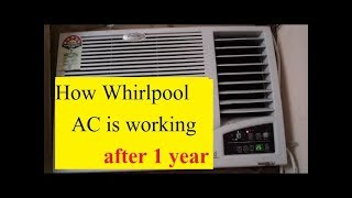 [English] Whirlpool Magicool 1.3 ton window ac   After 1 year usage and review