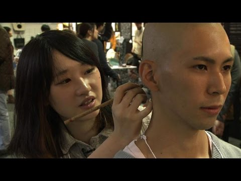 Hikaru Cho, ou l'art dérangeant des trompe-l'oeil corporels