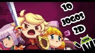 Os 10 Melhores Jogos 2D / Pixel para Android Leves e Viciantes #2 - ( Record - Aventura - Ação )