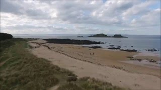 Phantom 3 Advanced at Yellowcraigs Beach