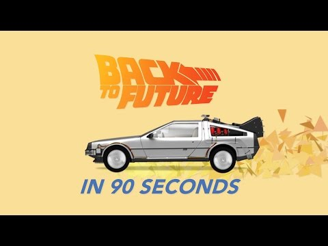 The Back to the Future Trilogy in 90 Seconds