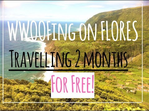 Volunteering on Flores, Azores - Travel for free/WWOOF