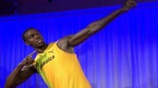 Pelari Jamaika Diabadikan di Madame Tussauds