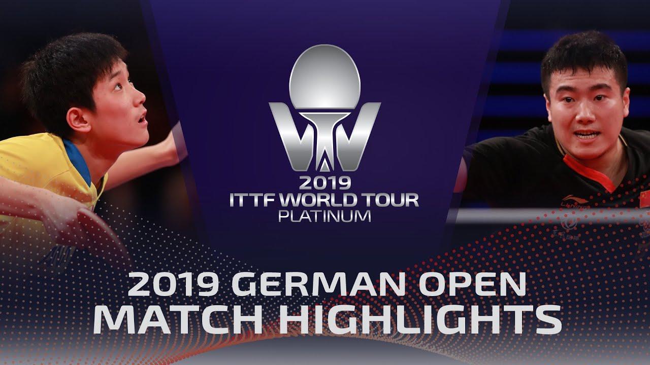 Download Tomokazu Harimoto vs Liang Jingkun | 2019 ITTF German Open Highlights (1/4)