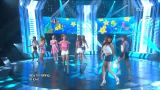 Sistar - Loving U, 씨스타 - 러빙유, Music Core 20120714