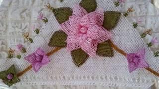 İğne Oyası Bohça kenarı modelleri & needle lace & crochet