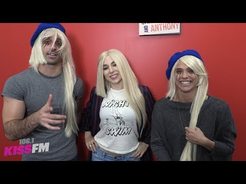Carla Marie & Anthony with Ava Max