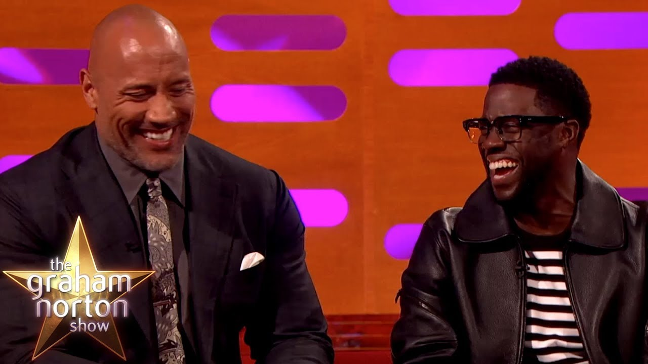 Kevin Hart Can't Believe Where Dwayne Johnson Was Born | The Graham Norton Show