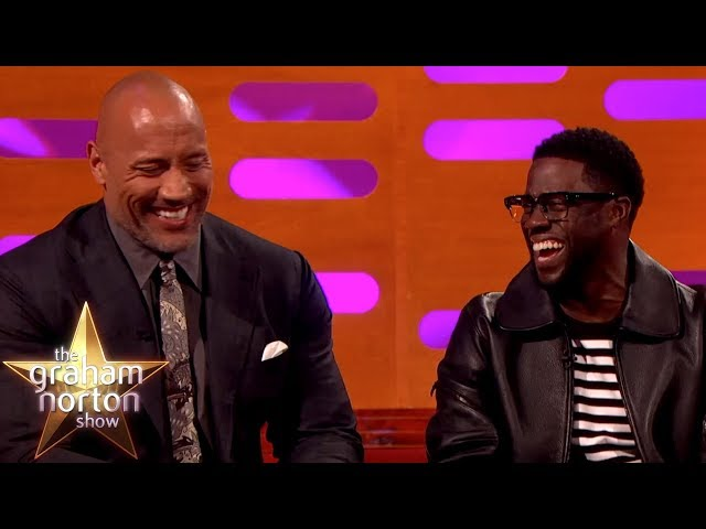 Kevin Hart Cant Believe Where Dwayne Johnson Was Born | The Graham Norton Show