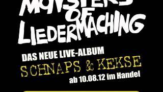 Monsters of Liedermaching - Ich hab dich lieb - Schnaps & Kekse - Rüdiger Bierhorst