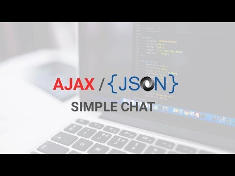Simple Ajax json php mysql chat