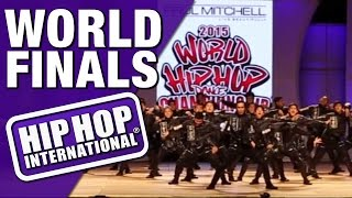 A Team - Philippines (Bronze Medalist MegaCrew Division) @ HHI's 2015 World Finals
