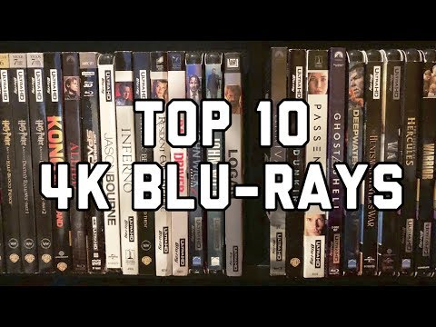 Top 10 4K UltraHD Blu-rays