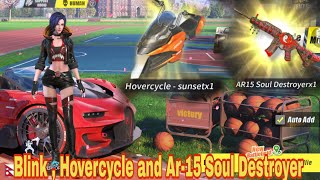 Opening Blink ,Hovercycle Sunset and AR-15 Soul Destroyer /Rules of Survival