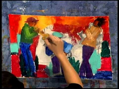 Acrylic Art Painting Lessons