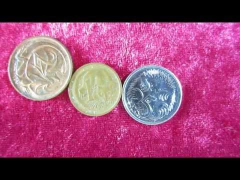 ASMR - Explaining Australian Currency Using a Pointer - Softly Spoken