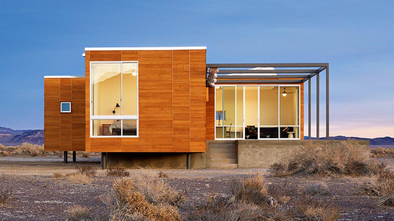11 prefab desert homes marvelous modern prefab homes - Contemporary modular home designs ...