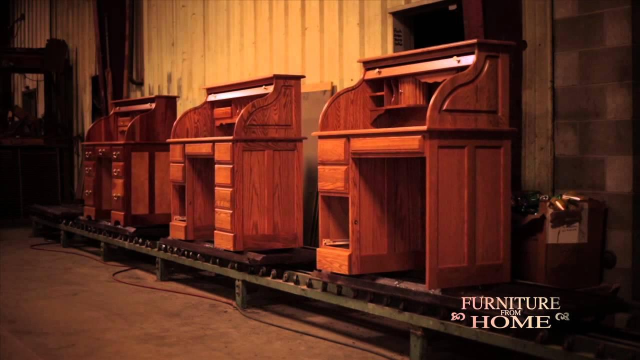 Haugen Home Furnishings Roll Top Desks Furniture From
