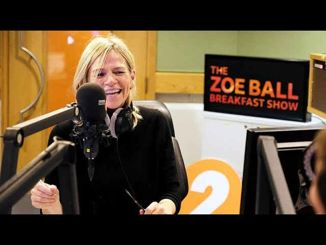 Zoe Ball Breakfast Show first link EVER!