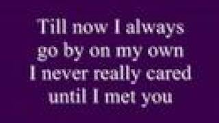 Alone by Celine Dion w/ lyrics