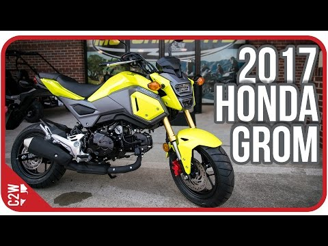 2017 Honda Grom | First Ride