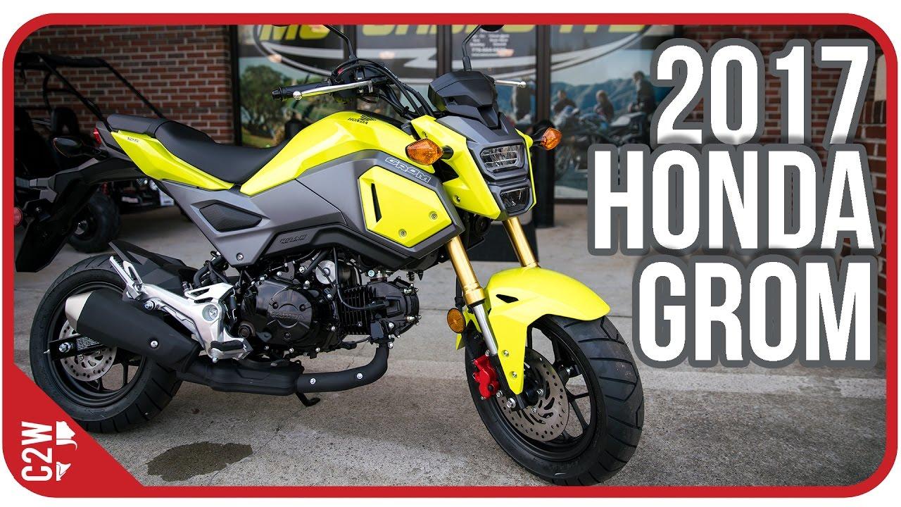 2017 Honda Grom | First Ride - YouTube