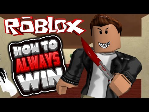 Roblox   Murder Mystery 2   HOW TO ALWAYS WIN!!