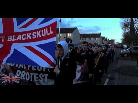 1000 Days of Peaceful Protest Twaddell Avenue Belfast 7/4/16