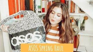 ASOS SPRING HAUL WITH TRY ON!