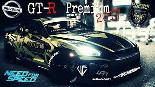 Need for speed 2015- Nissan GT-R Premium 2017-Rockstar (Tanner Foust)