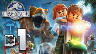 Jurassic World LEGO Game!! GIVEAWAY!! - Ep1