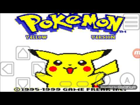 My Old Boy Pokemon Yellow Cheat Codes