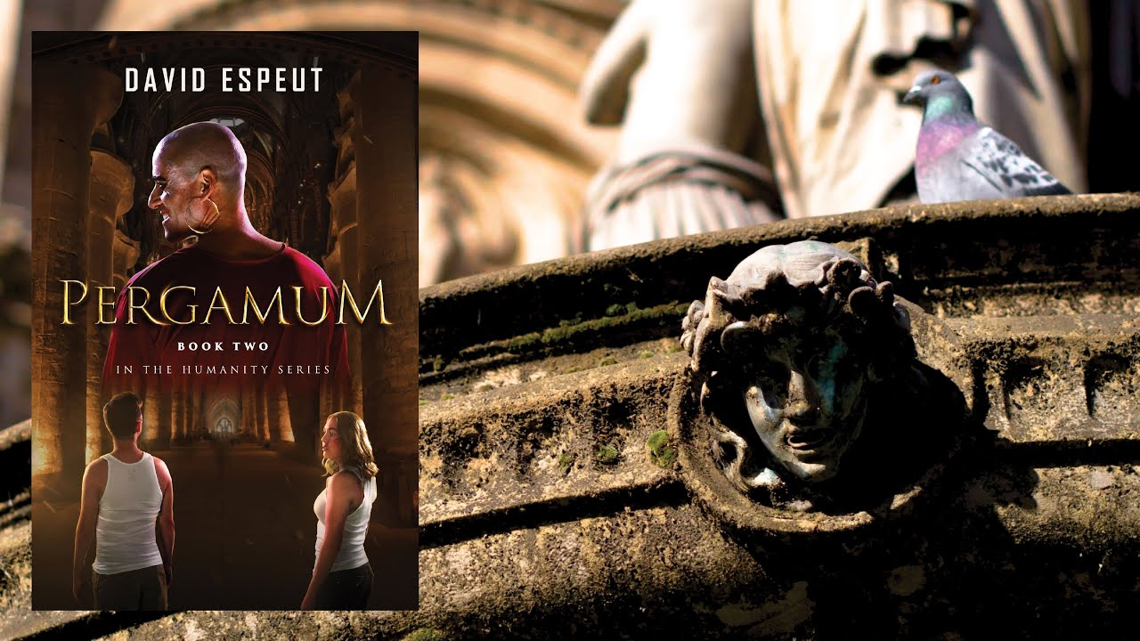 PERGAMUM by David Espeut // Official Book Trailer
