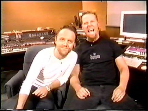 Metallica's James Hetfield & Lars Ulrich on VH1's The Rock Show (1999) [TV Broadcast]