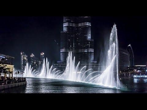 Dubai Water Fountain Show Youtube