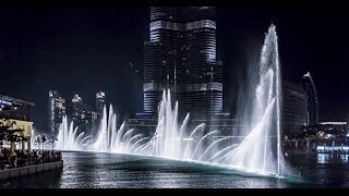 dubai water fountain show