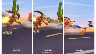 Looney Tunes Dash - THE ROAD RUNNER vs WILE E. COYOTE