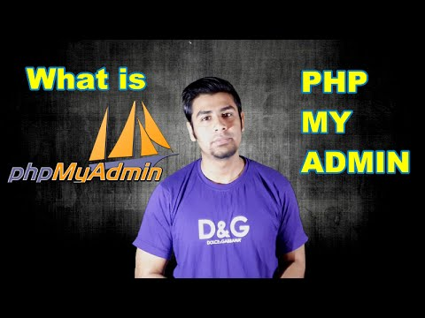 What is phpMyAdmin ?   What are its uses ? (In Hindi)