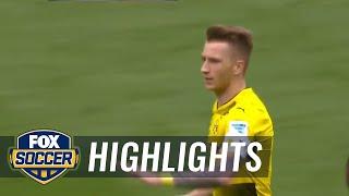 Marco Reus equalizes for Dortmund against Werder Bremen   2016-17 Bundesliga Highlights