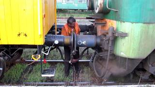sprzęganie lokomotywy hd