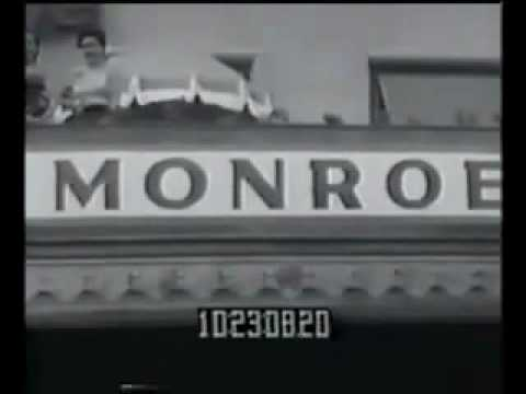 Marilyn Monroe - Promotes Monkey Business RARE FOOTAGE. Mp3