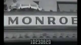 Marilyn Monroe - Promotes Monkey Business RARE FOOTAGE.