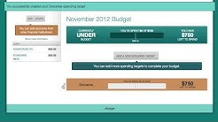 Rocky Mountain Credit Union eBudget Tutorial