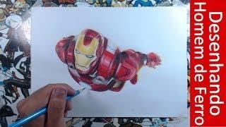 Desenhando o Homem de Ferro (Drawing Iron Man) Gênio, Playboy, Bilionário, Filantropo Max Art