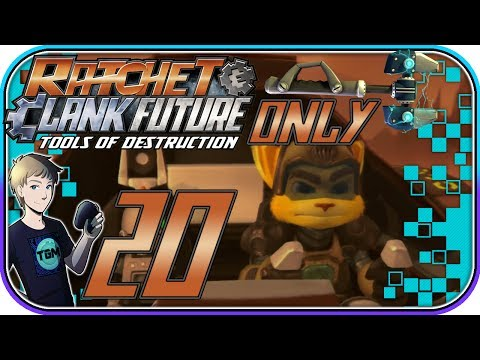 Ratchet & Clank: Tools of Destruction (WRENCH ONLY!) - Part 20: Zordoom Prison, Viceron