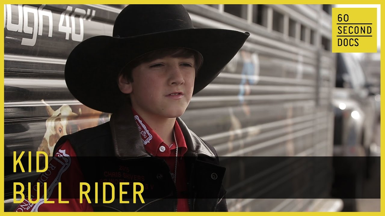 74cfbe81a05f28 Kid Bull Rider | Ryder Carpenetti // 60 Second Docs - YouTube