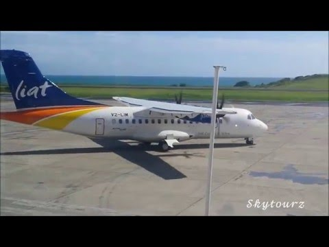 LIAT ATR42-600 Taking off from Grenada