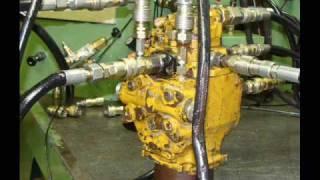 diaporama reparation pompe hydraulique revision moteur hydrauliques