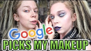 Google Picks My Makeup CHALLENGE! | GRAV3YARDGIRL